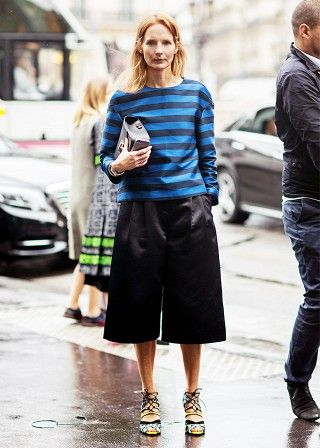 Tip of the Day: Solid and Striped via @WhoWhatWear