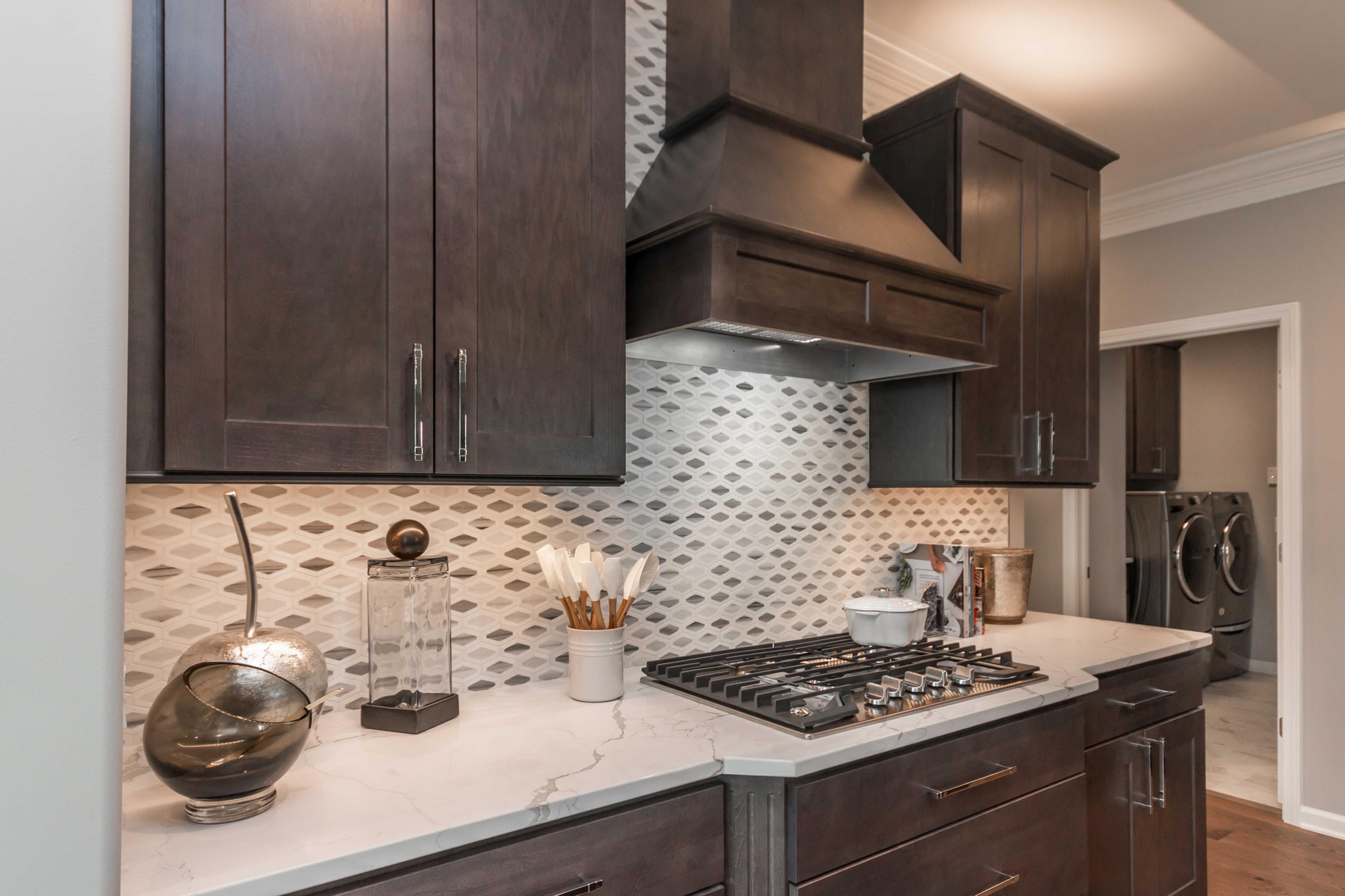 Ten Beautiful Backsplash Designs From Our Recent Home Tours Beautiful Backsplash Backsplash Designs Kitchen Design
