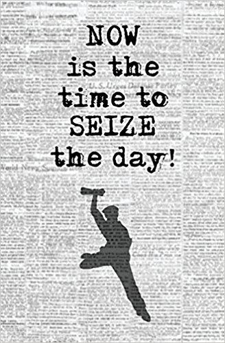 Now Is The Time To Seize The Day Quote From Newsies The Musical Blank Journal Musical Theater Quote Pape Musical Theatre Quotes Musicals Theatre Quotes