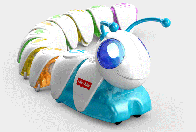 This Toy Caterpillar Teaches Coding Basics To Kids Baby Tech Fisher Price Christmas Toys For Girls