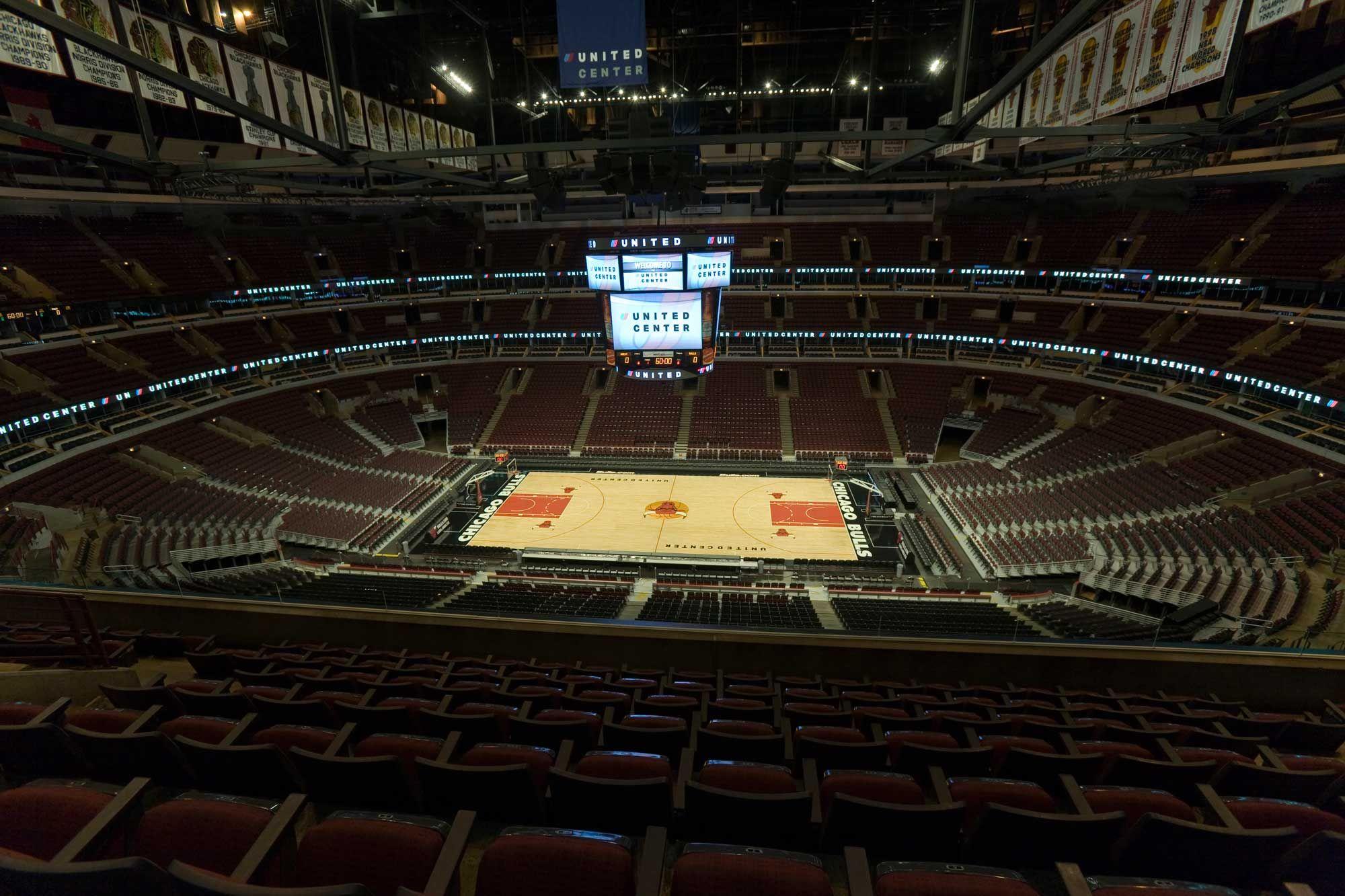 Exterior: United Center (Bulls Game), Chicago, IL