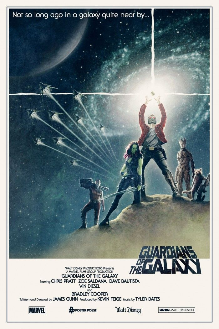 Matt Ferguson Guardians of the Galaxy