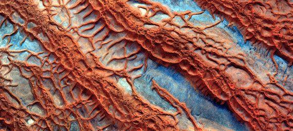Desert aerialImagen aérea desierto desert prints  por Chachaprints