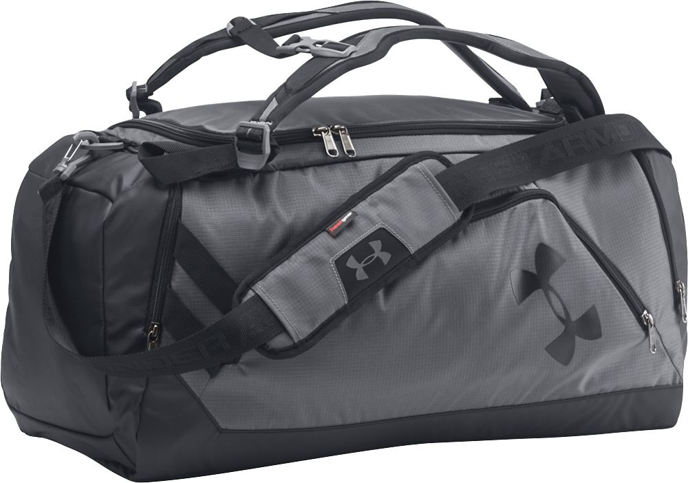 0258ba0df95d Under Armour - Storm Contain Backpack Duffle 3.0 - Graphite Black  (Grey Black)