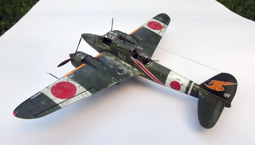 Japanese fighter Kawasaki Ki-45 Toryu (Dragon Slayer)