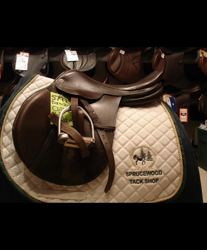 Used Barnsby Cliff Close Contact Saddle 16 5