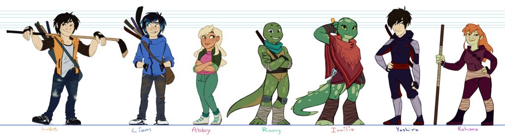 Ninja Turtles Height