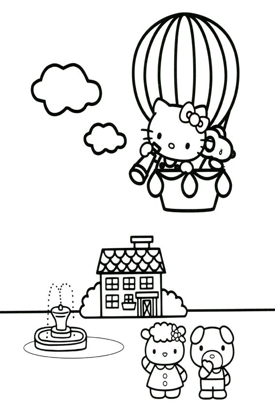 Hello Kitty Coloring Pages Overview With A Lot Of Kitties Hello Kitty Coloring Hello Kitty Colouring Pages Kitty Coloring