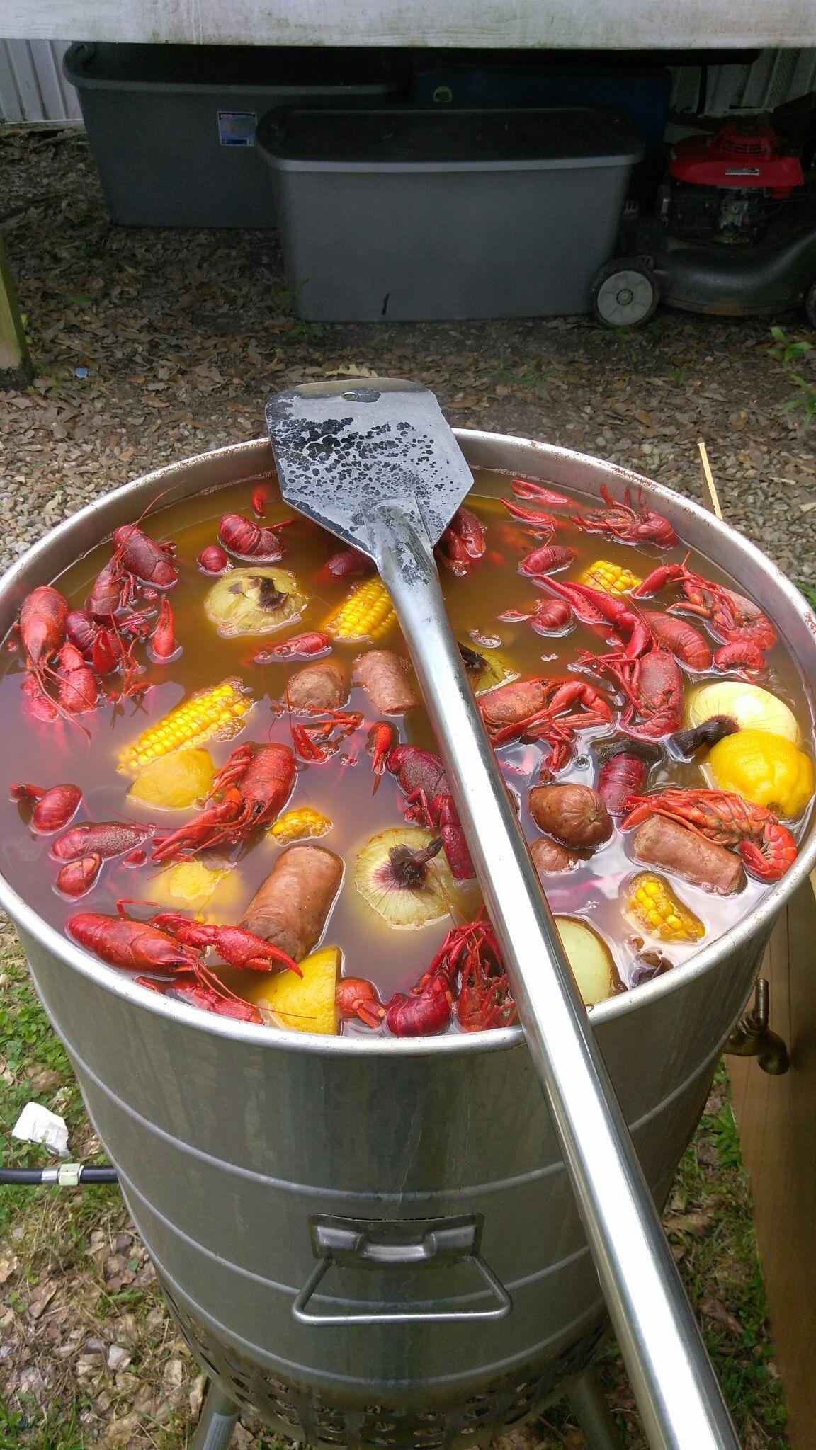 Crawfish boil crawfish boil crawfish good times