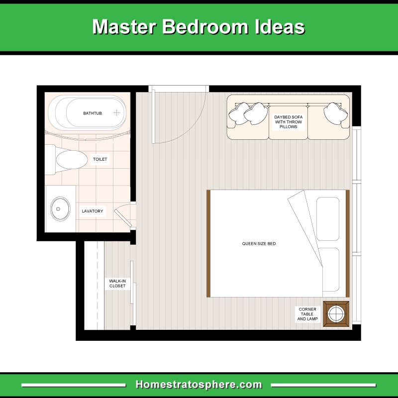 13 Master Bedroom Floor Plans Computer Drawings Bedroom Flooring Bedroom Floor Plans Floor Plans