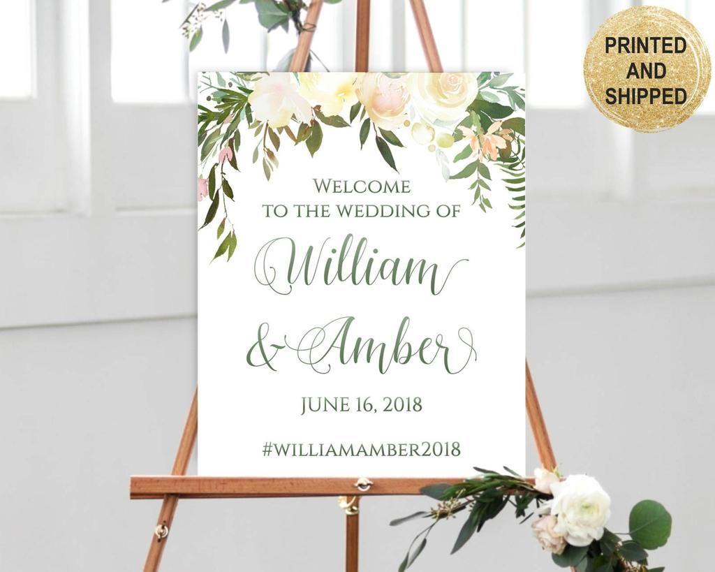 Signage for Wedding Reception Unplugged Ceremony Poster Gold Wedding Decor