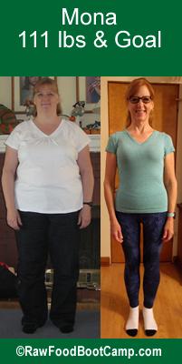 raw food diet weight lost