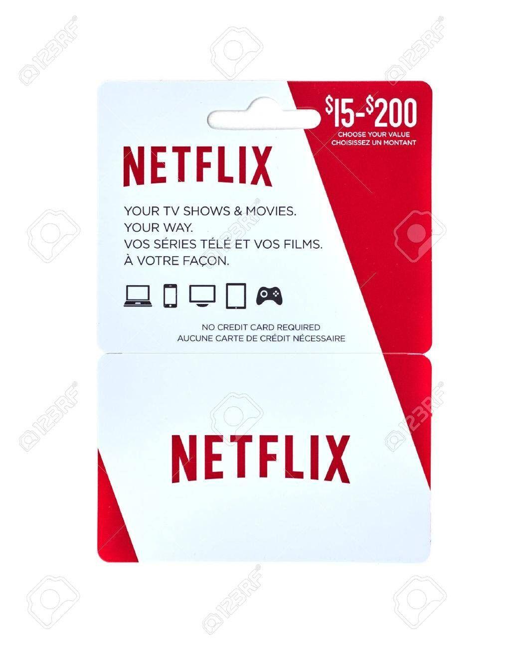 Photo of Netflix Gift Card