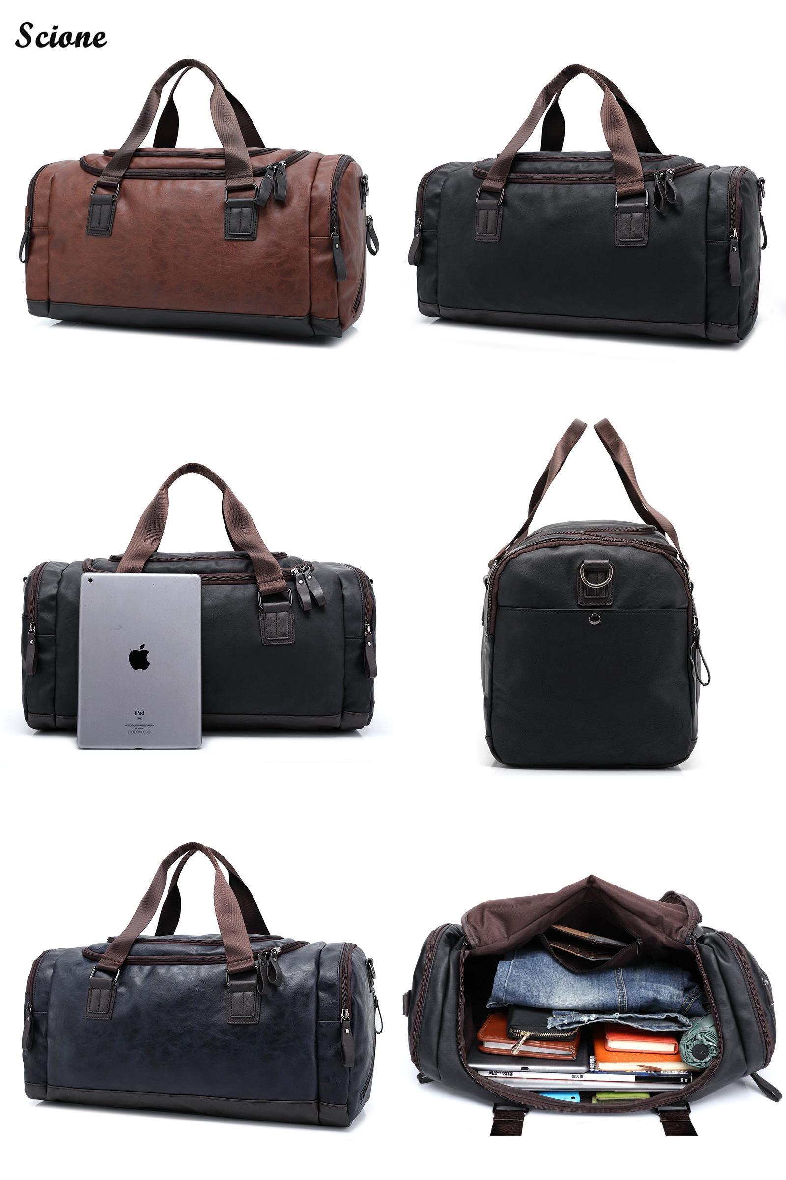 Travel Luggage Duffle Bag Lightweight Portable Handbag Technology Pattern Large Capacity Waterproof Foldable Storage Tote