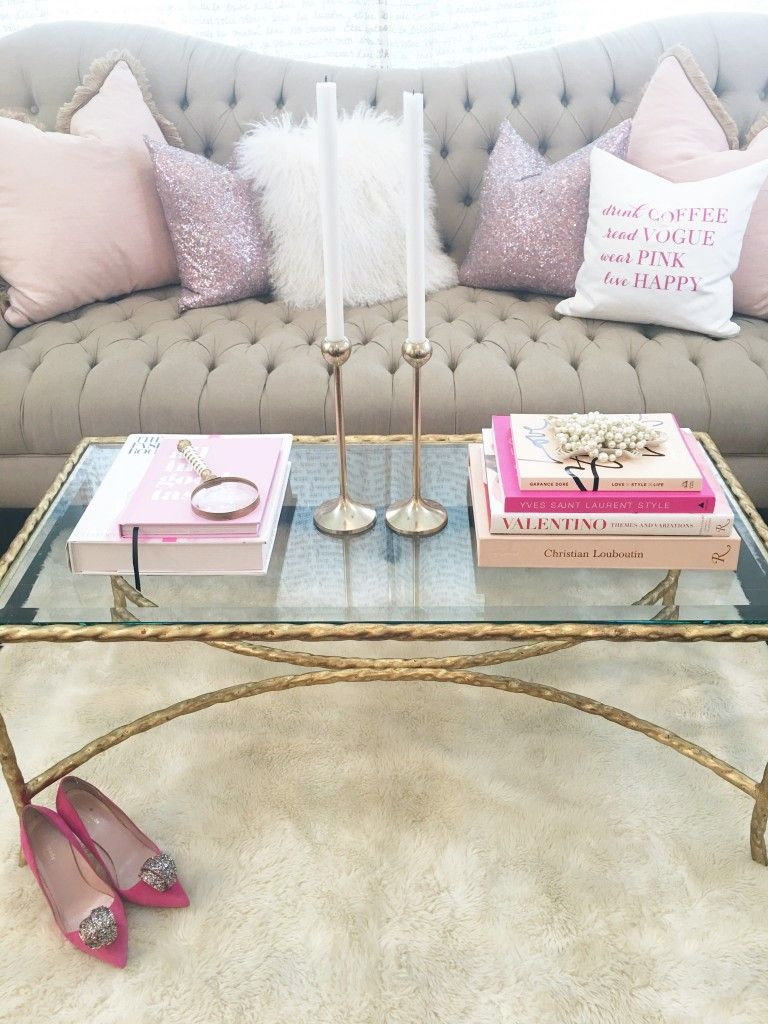 favorite ways to style your coffee table with caroline birgmann rh pinterest com