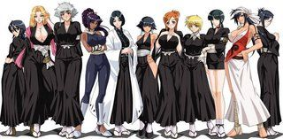 Orihimi Inoue Soul Reaper Garb Bleach Cute Anime Wallpaper