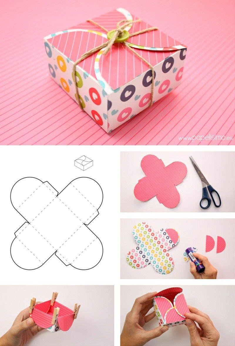 Идеи коробочек для подарков своими руками фото 839