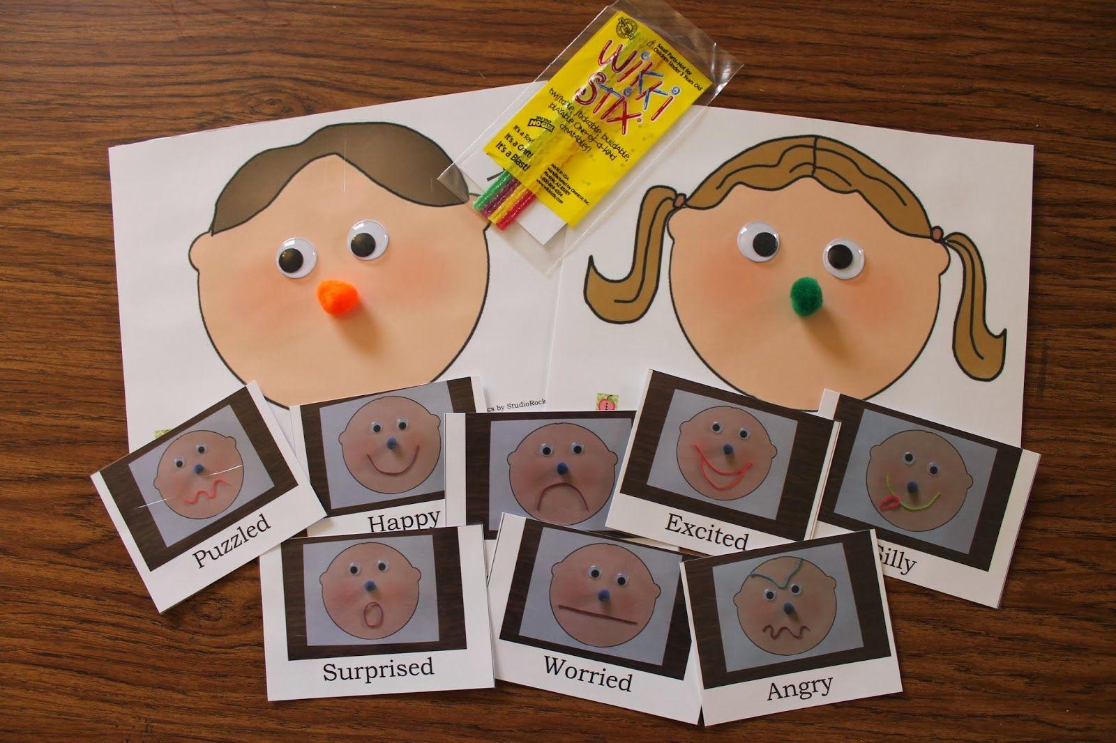 Preschool And Playschool Feelings And Emotions Unit