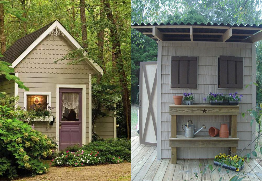 Merveilleux Back Yard Garden Shed Here At Http://woodesigner.net We Strive To