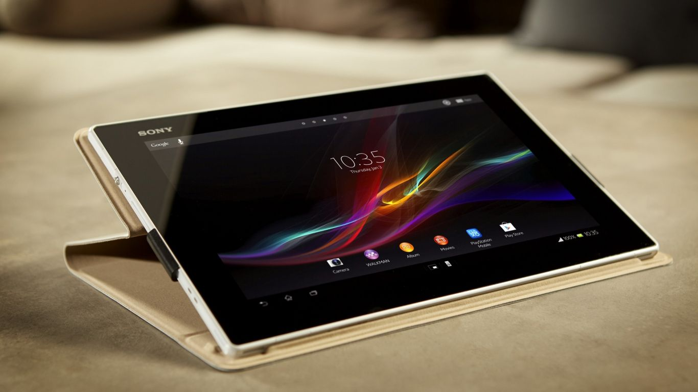 Sony Xperia Tablet Z Hd Wallpaper Tablet Sony Xperia Android