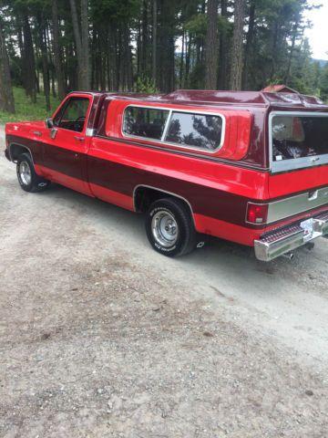 Fully Restored 1973 Chevrolet C10 396 Custom Sleeper Show Truck 1