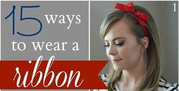 緞帶在手造型無窮!緞帶的15種變化髮型 | 美人計 | 妞新聞 niusnews