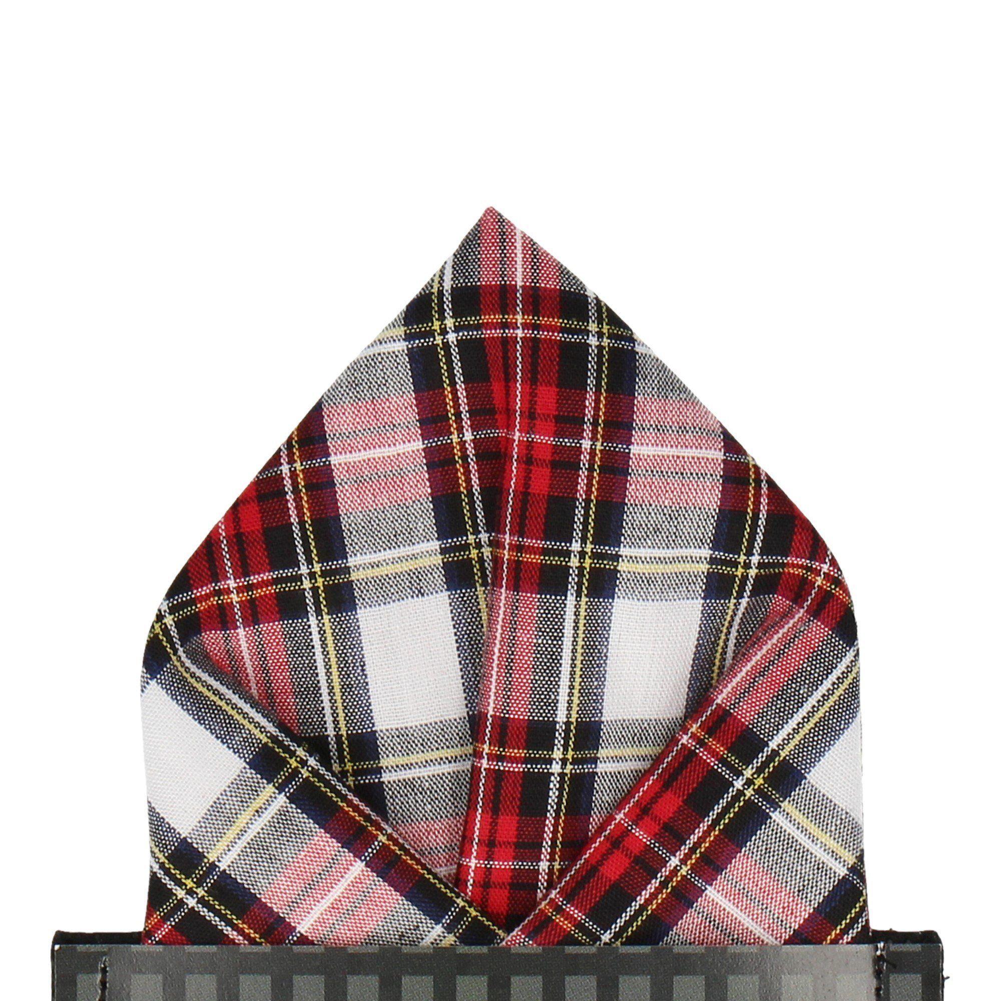 Stewart Dress Tartan Pocket Square