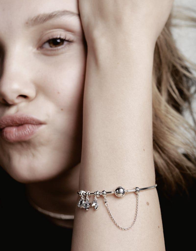 Millie Bobby Brown's Pandora Jewelry Campaign   Millie bobby brown ...