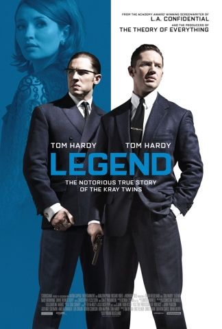 150 Legend [10/09/15] - #### - Tom Hardy stuns playing the twins ably supported by the strong cast; pity the script does not achieve the same heights.
