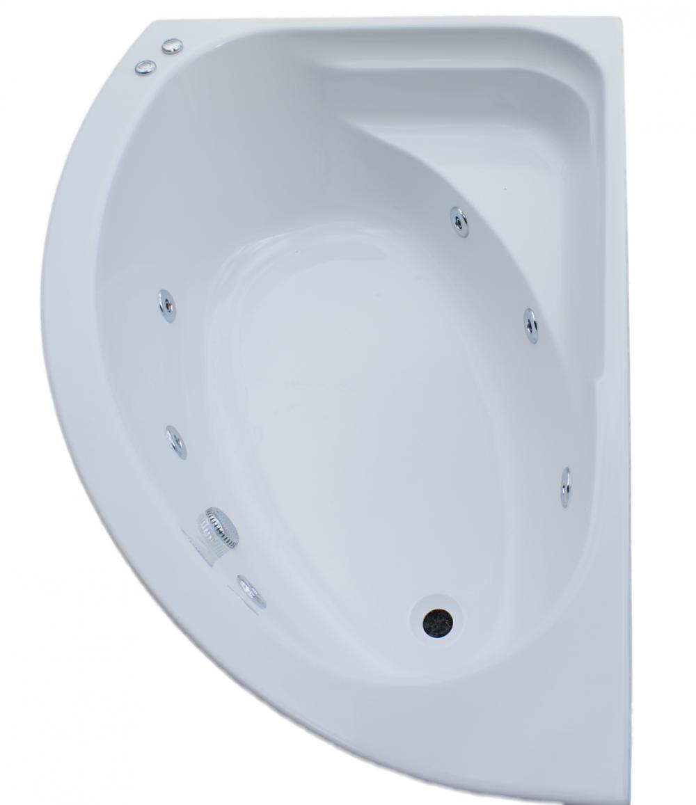 LH Trojan Orlando 6 Jet Whirlpool Bath | Corner Jacuzzi Whirlpool ...
