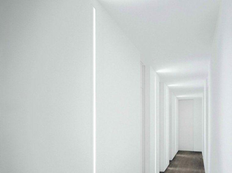 Bande led luminaire integre maison decoration couloir entree entr e clairage int rieur - Luminaire entree maison ...