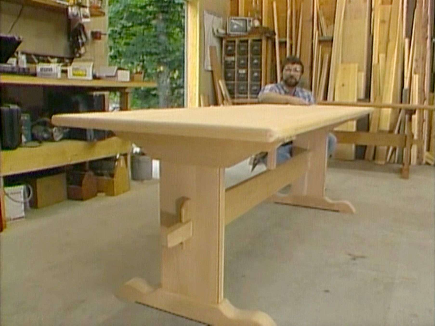 Trestle Table New Yankee Work