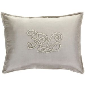 Ralph Lauren Home Tate Silver Cushion - 38x50cm