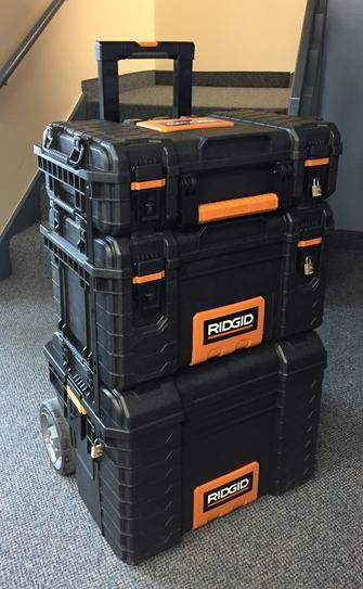 Ridgid 22 In Pro Tool Box Black 222570 Tool Box Portable Tool