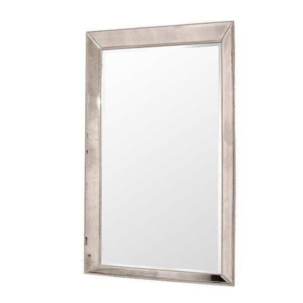 El Dorado Furniture Beaded Leaner Mirror Leaner Mirror Mirror Antique Mirror Glass