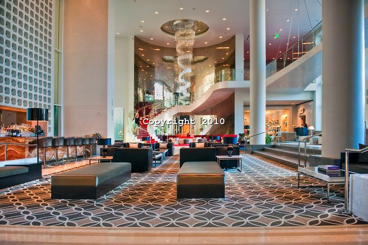 Best W Hotel Hollywood Ca Lobby Bar Grand Staircase 400 x 300