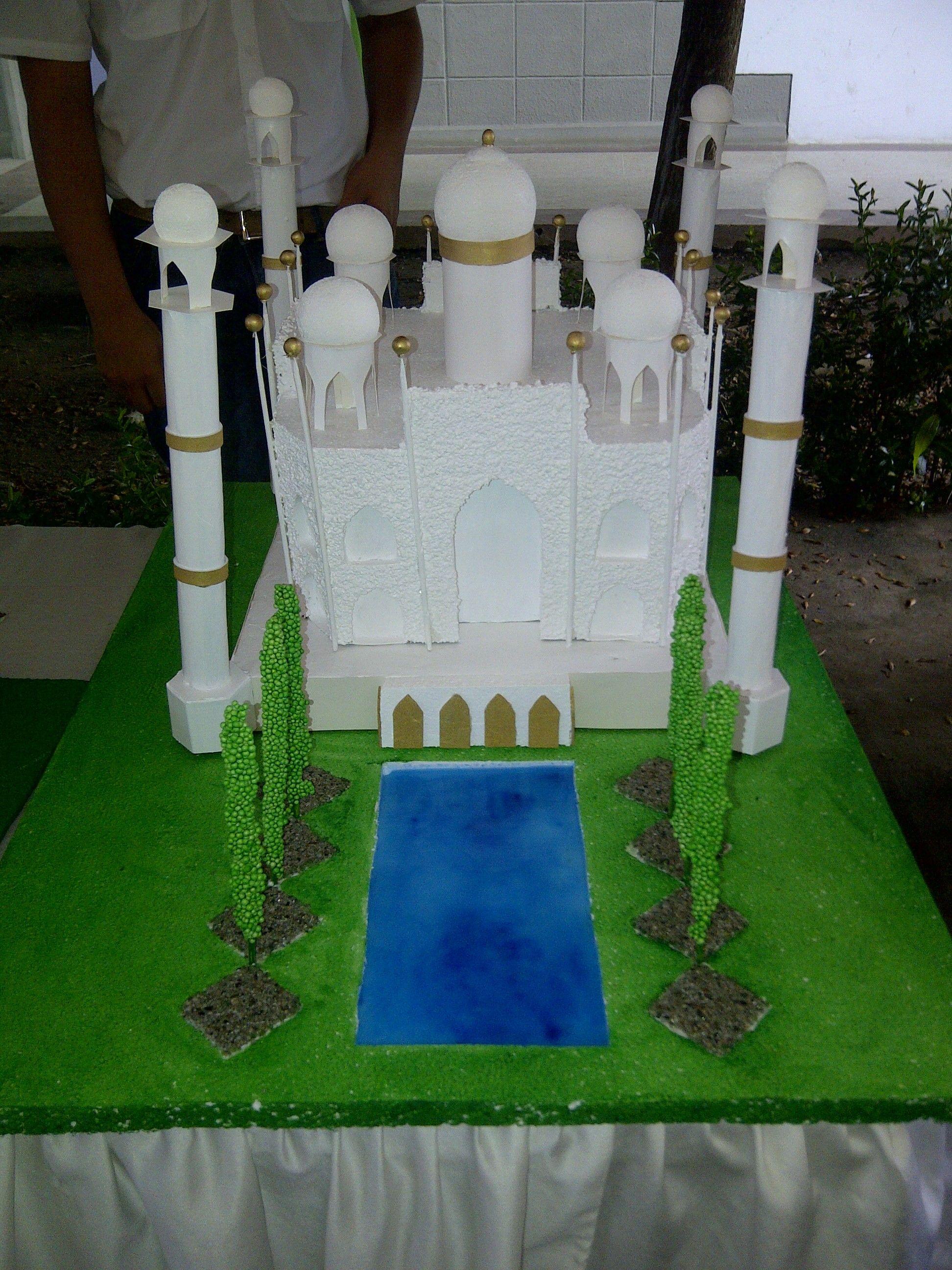Maqueta Taj Mahal, India | Taj Mahal | Pinterest | Taj mahal, India ...