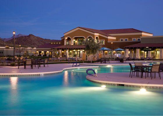 This Luxurious Pool Awaits At The Cantamia Community Estrella In Goodyear Az