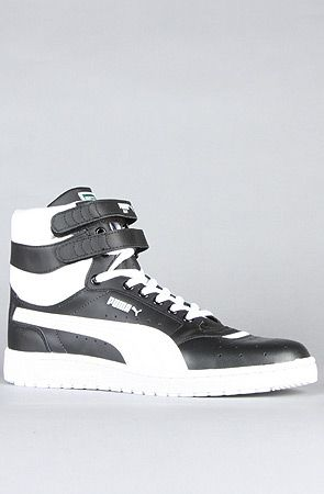 official photos 7bc78 2b0b3 83 The Sky II Sneaker in Black amp White by Puma on Karmaloop -