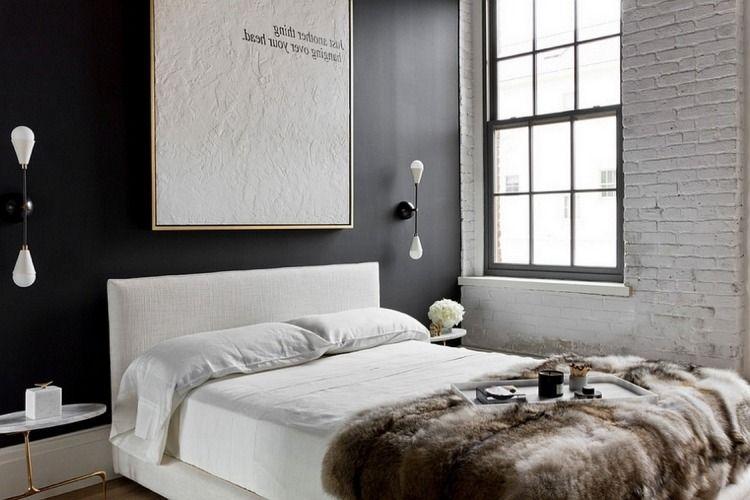 Chambre blanche en 65 super idées de meubles et décoration | suite ...