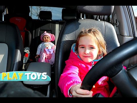 Baby Alive Gets Mcdonalds Happy Meal Surprise The Lilly And Mommy Show The Toytastic Sisters Youtube Sick Baby Baby Alive Baby Dolls