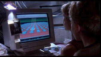 Sgi Workstation With Irix Os From Jurassic Park The Original Jurassic Park Hackers Film Jurassic