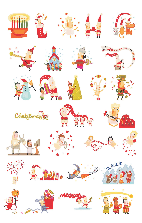 Christmas symbols to copy and paste image collections symbol and christmas symbols to copy and paste images symbol and sign ideas cute christmas characters eps file buycottarizona Image collections