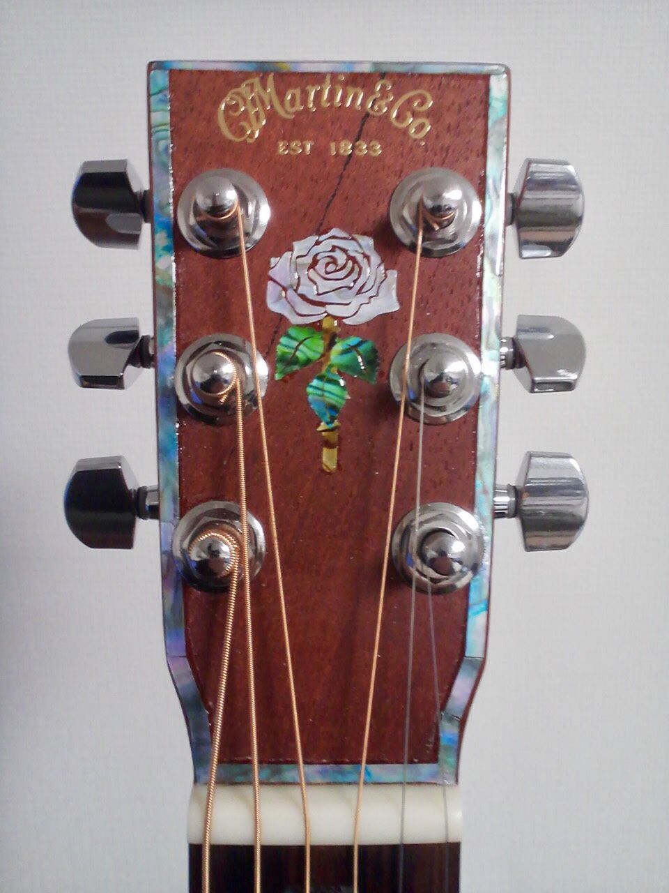Rosanne cash rose inlaysticker and sticks abalone mixed inlay stickers decals for