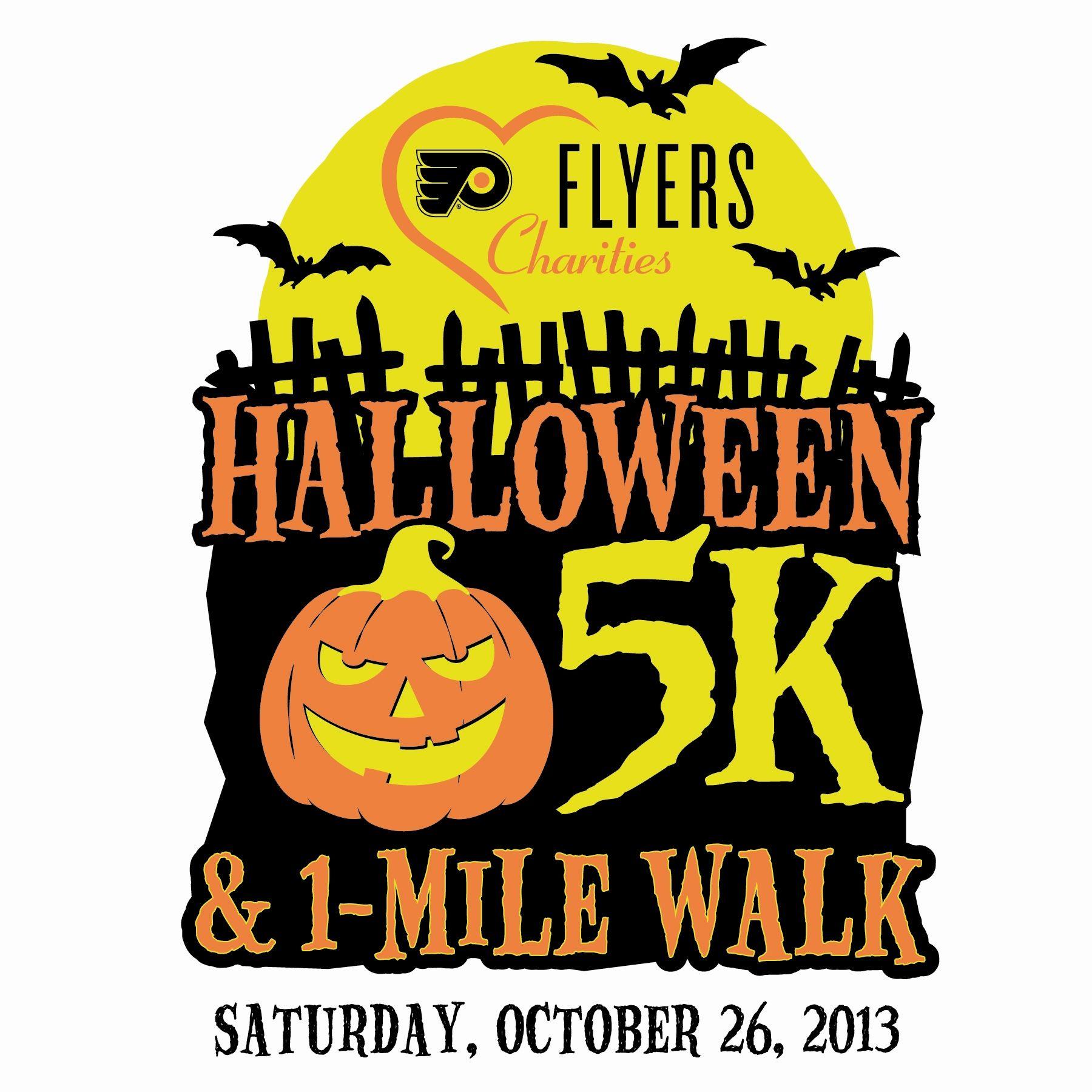 Philadelphia Flyers Halloween 5k Fall Charity Runs MyVSFallEdit