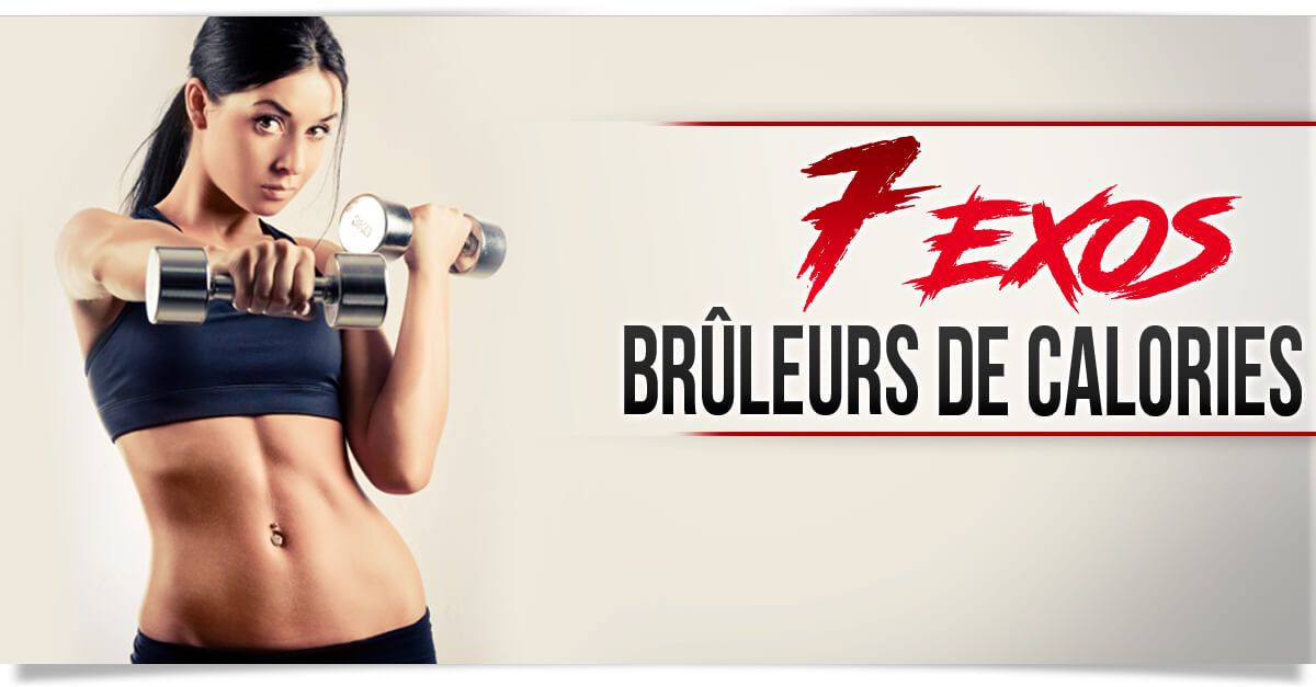 Exercices bruleurs de calories