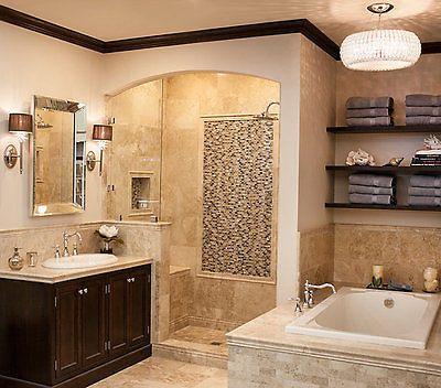 Tile Bathroom Remodel Master
