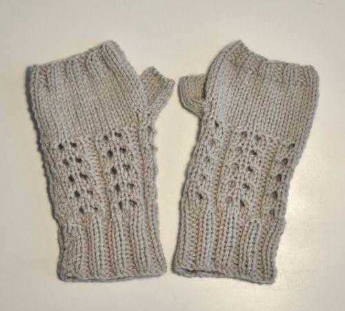 patron tricot mitaine femme