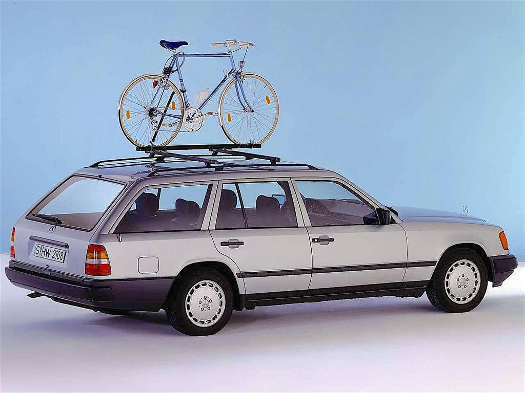 1984 mercedes benz s124 mercedes benz roof rack and cars for Mercedes benz ski rack