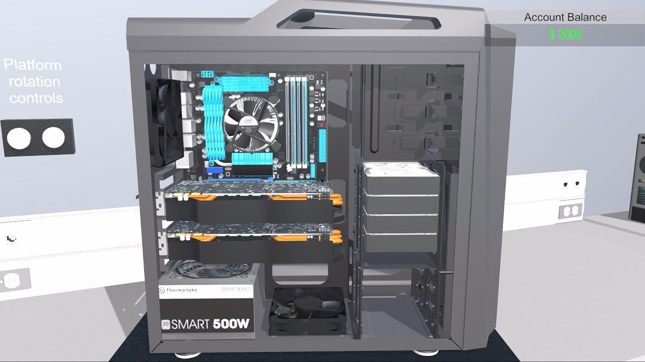 PC Building Simulator rigs up more than 100,000 in sales
